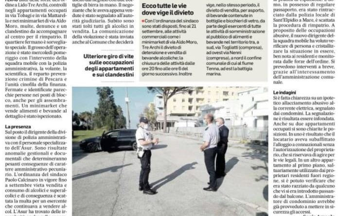 Corriere Adriatico 22-5-2020 pag.1