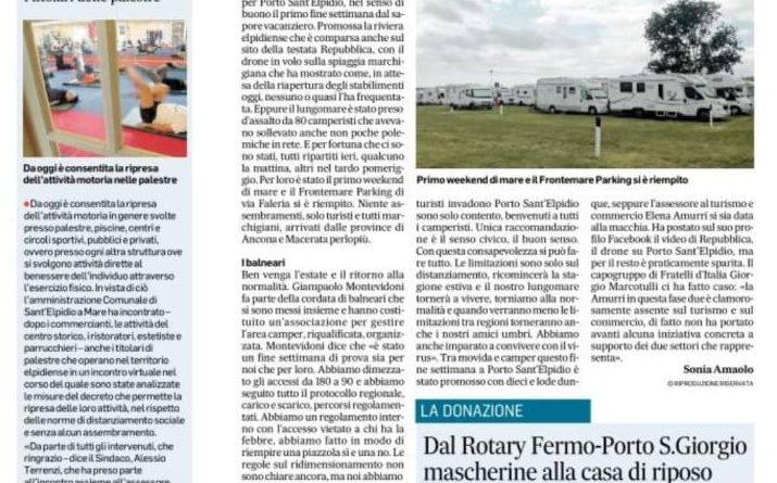 Corriere Adriatico 25-5-2020-1