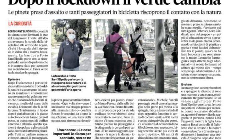 Corriere Adriatico del 23-5-2020-3