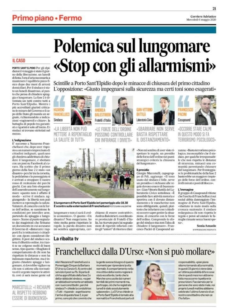 Corriere Adriatico del 6-5-2020 (3)