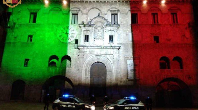Palazzo Capitani tricolore