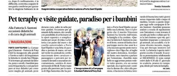 Corriere Adriatico 16-7-20201