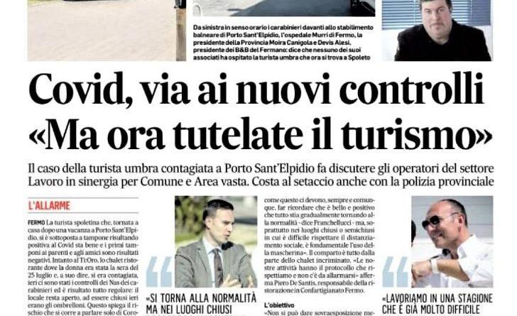 Corriere Adriatico 5-8-2020 1
