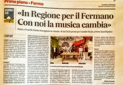Fratelli d'Italia: in regione per il fermano, con noi la musica cambia